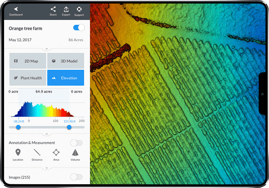 drone elevation data