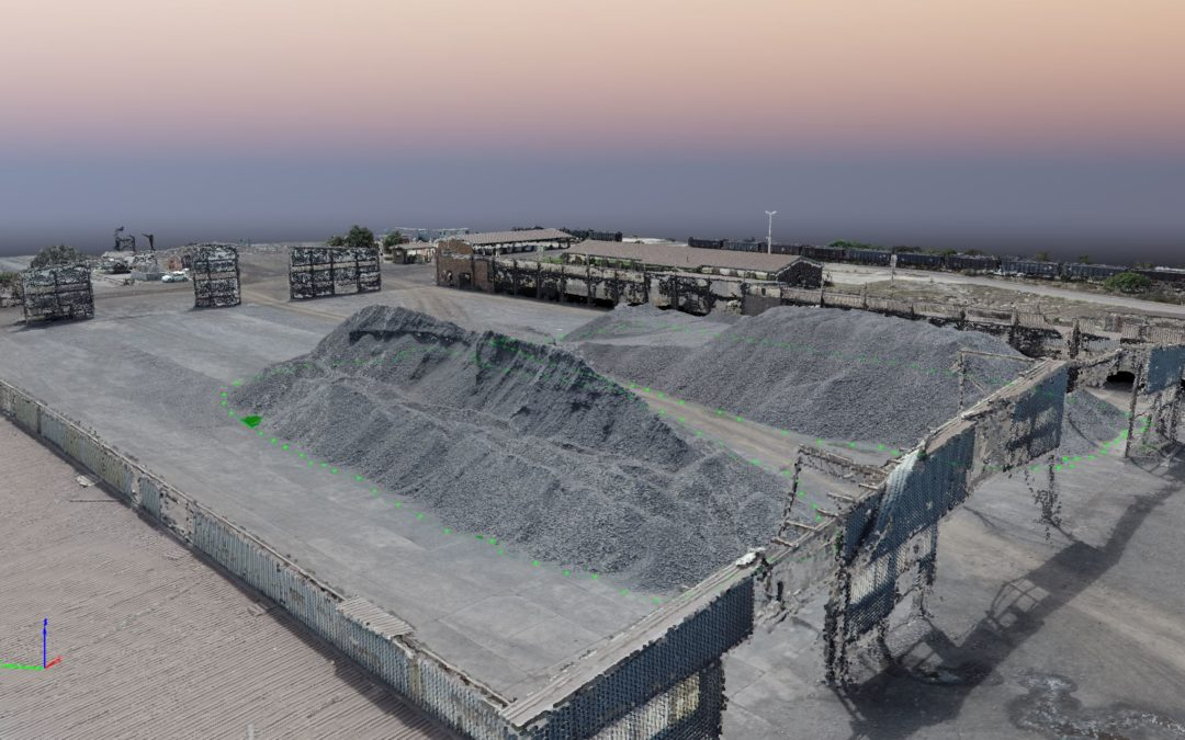 Stockpile Survey: When is it better not to use drones?